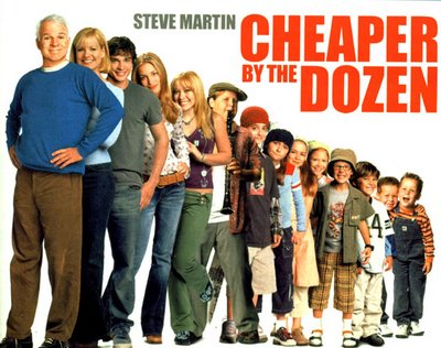 Sanfer English Club: A film review: Cheaper by the Dozen