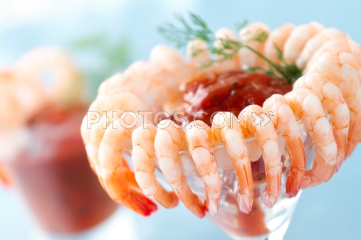 Alfa img - Showing > Shrimp in Martini Glasses