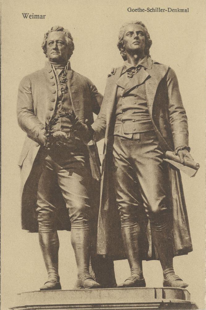 Goethe und Schiller,