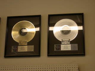 Gold and Platinum Records: