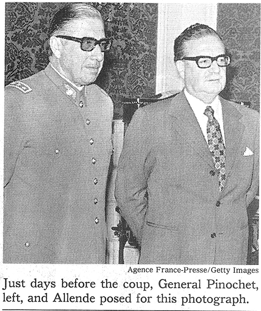 allende guys A tale of two chileans: pinochet and allende by robin harris contents introduction chapter one the gathering storm chapter two allende's programme - total, scientific, marxist socialism.
