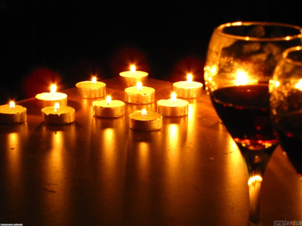 Candles lit what you think about me and you hold you down Best candles for romantic night