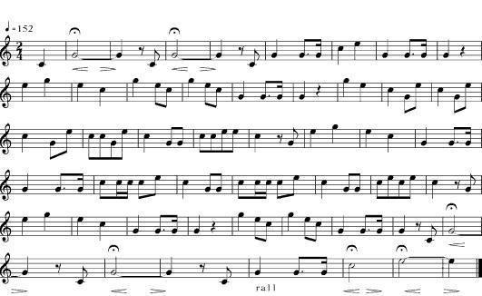 Bach On The Staff Sheet Orange Soda By Vic Mensa