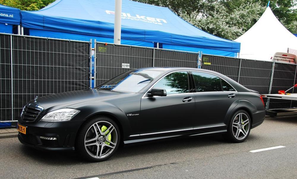 S class black matt der mercedes steht mir azzlack for Mercedes benz lyrics