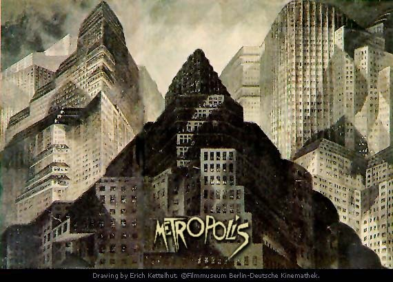 a comparison of metropolis by fritz lang and 1984 by george orwell Start studying 1984 + metropolis george orwell explores this notion in his novel 1984 fritz lang's expressionist film metropolis confronts the conflict.