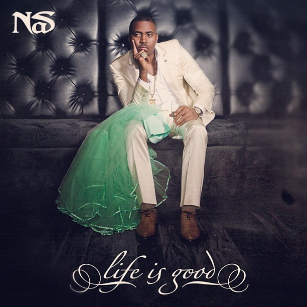 "> Nas ""Life Is Good"" (Tracklisting & Production Credits) - Photo posted in The Hip-Hop Spot 