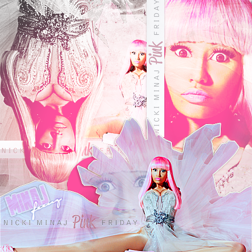nicki minaj 2011 album cover. Nicki Minaj Pink Friday: ALL