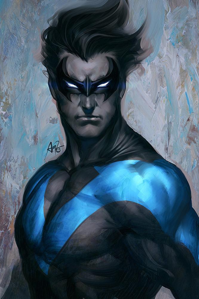 Nightwing has stirred Nightwing