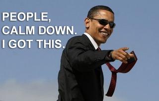 obama shut the fuck up