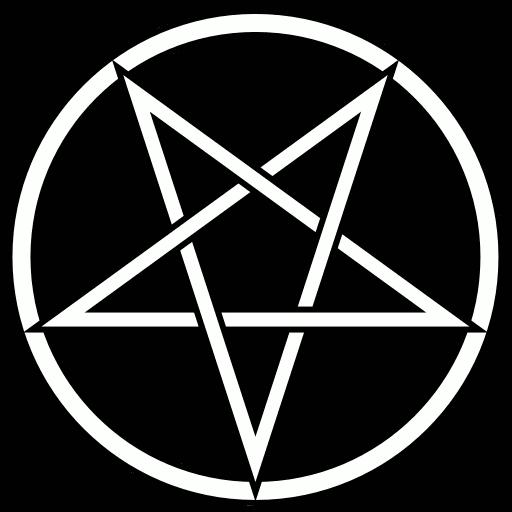 Satanic Pentagram Drawing