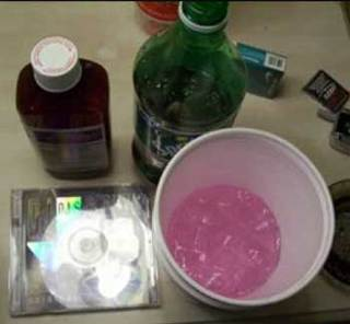 how to make purple drank color