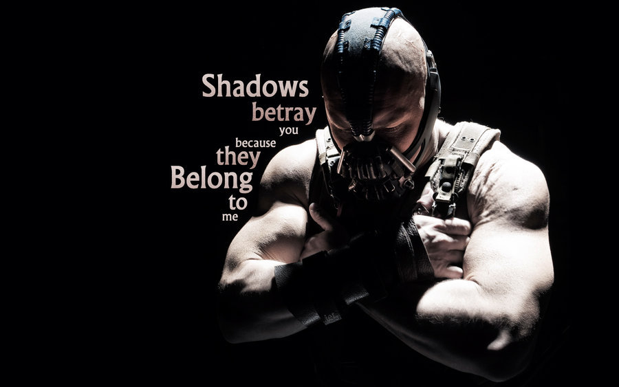 Dark Knight Rises Bane...