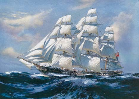 Famous Sailing Warship Paintings
