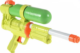 Wayne's super soakers shoot bullets