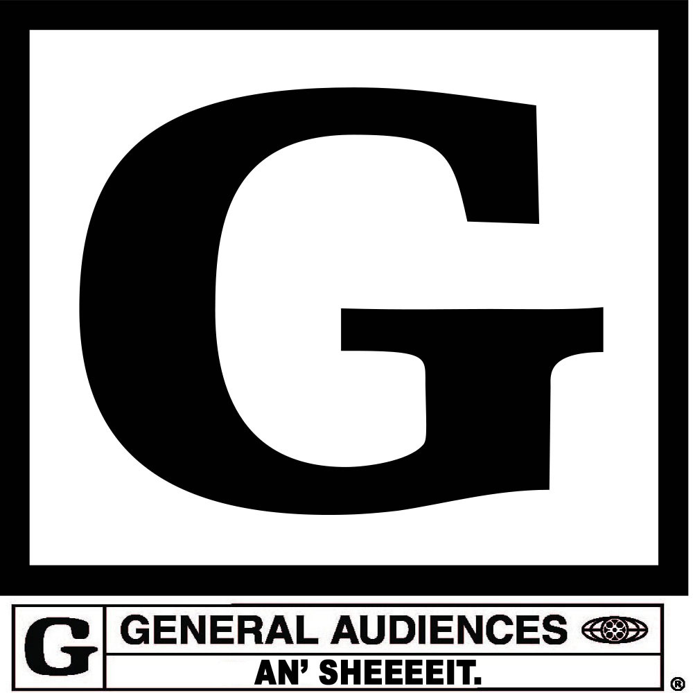 Movie rated g logo if a movie is rated g