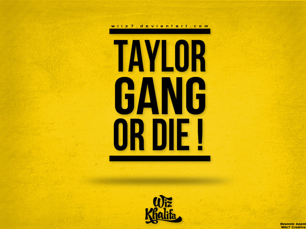 Taylor Gang Logo Wallpaper Taylor Gang or Die Wallpaper