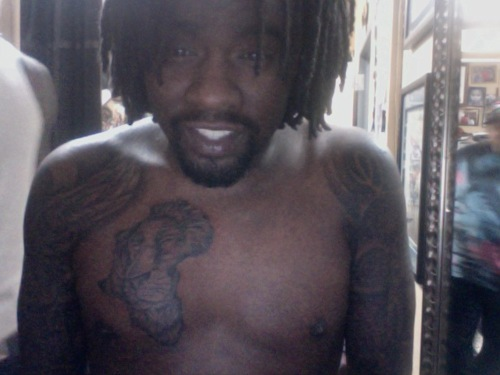 wale has several interesting tattoos on his arms as well as a newly ...