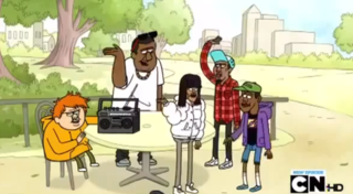 Childish Gambino  Ft  Regular Show  amp  Tyler  The Creator       Regular    Childish Gambino And Tyler The Creator On Regular Show