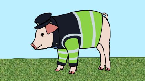how to talk like porky pig