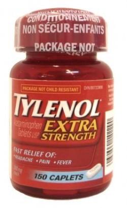 tylenol head.