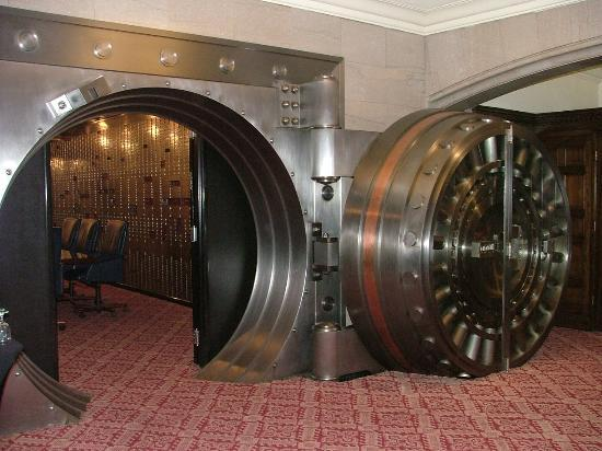 Bank Safe Vault a Vault is a Safe Where Money
