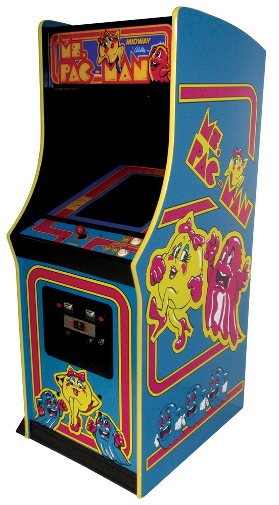 old school arcade game machines