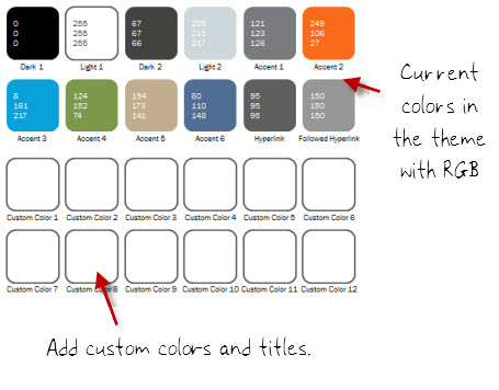 how to create color schemes in powerpoint to match your brand, Modern powerpoint