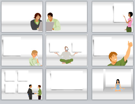 25 more free display graphics for your e-learning courses | the, Powerpoint templates