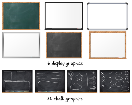 create a chalkboard template with these simple tips more than 40 free graphics the rapid e. Black Bedroom Furniture Sets. Home Design Ideas