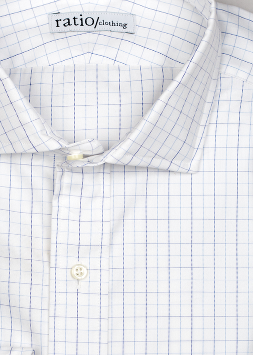 Light Blue Windowpane Pinpoint