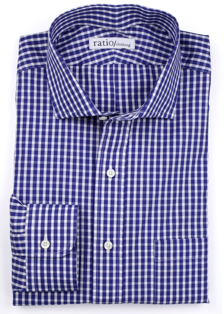 Dark Blue Stanton Check