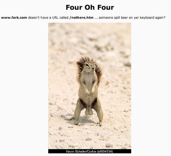 Fark 404 Page