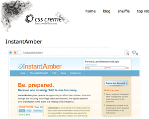 InstantAmber on CSS Creme
