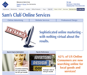 Sam's Club Online Services