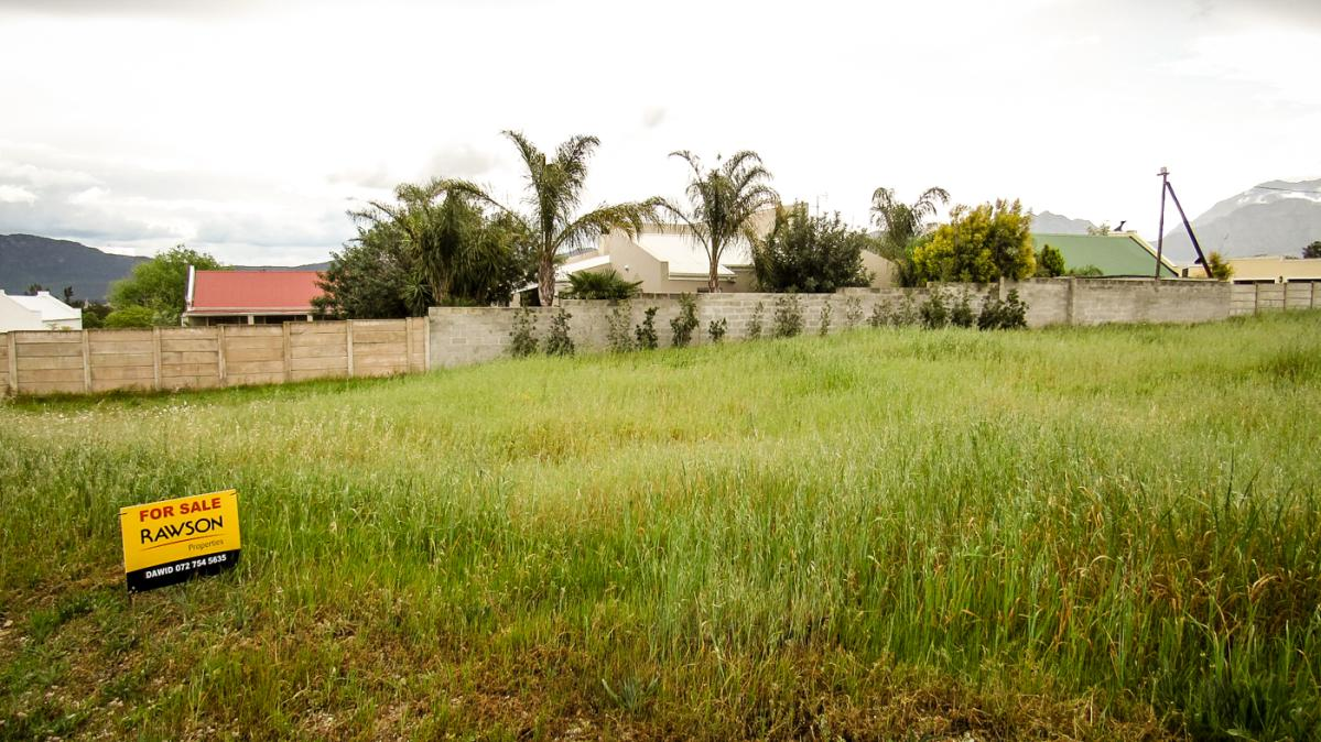 Vacant erf to auction in Tulbagh