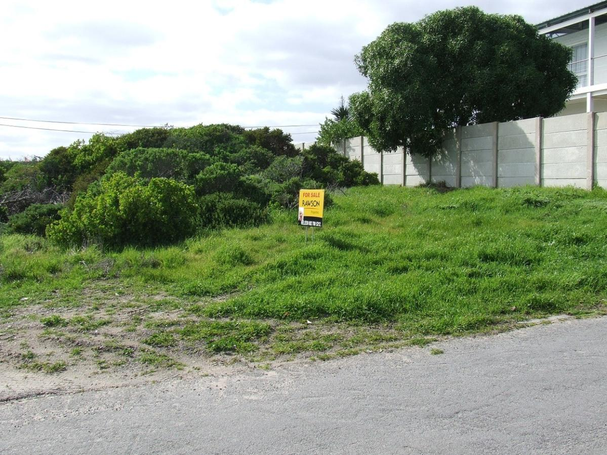 Vacant land for sale in Yzerfontein