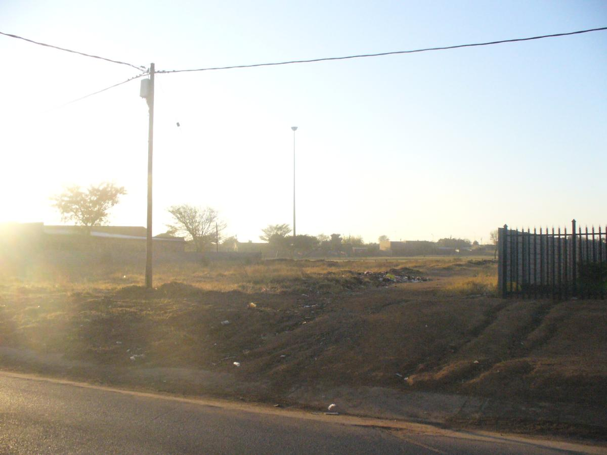 Vacant land for sale in Soshanguve