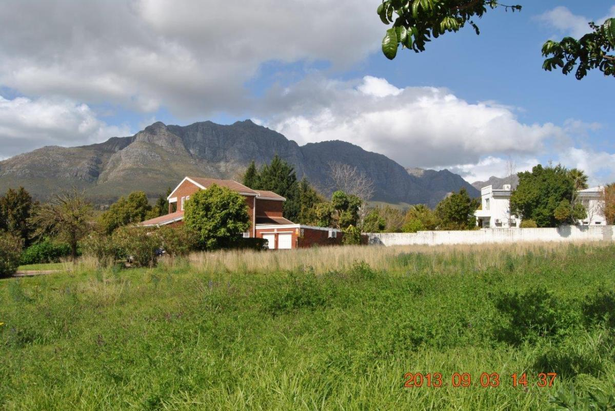 Vacant erf for sale in Paradyskloof