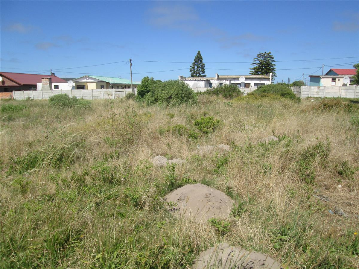 Vacant stand for sale in Struisbaai