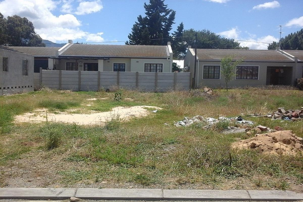 Vacant erf for sale in Robertson