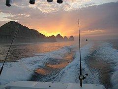 One of the perks of fishing. A Cabo sunrise. / Matt Maiello