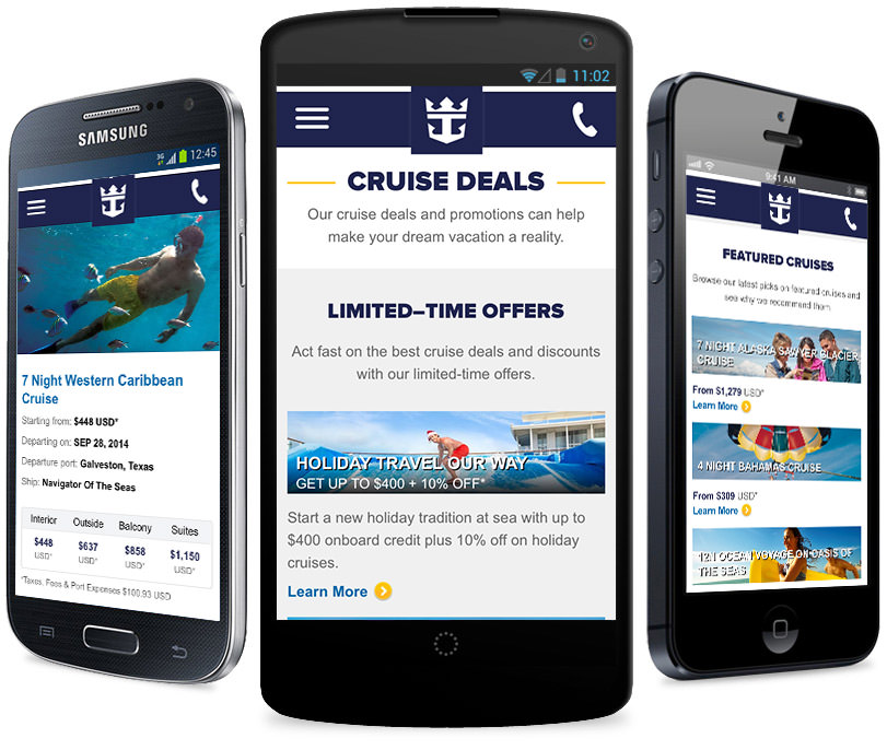 Royal Caribbean Cruise Planner