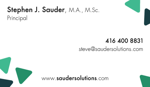 Sauder businesscard back