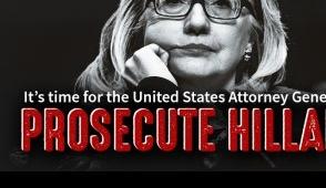 Tell U.S. Attorney General Loretta Lynch to PROSECUTE Hillary Clinton