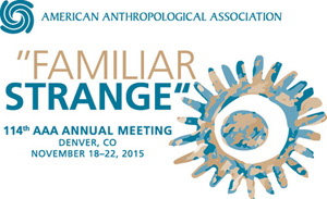 Denver Annual Meeting Logo, Familiar/Strange