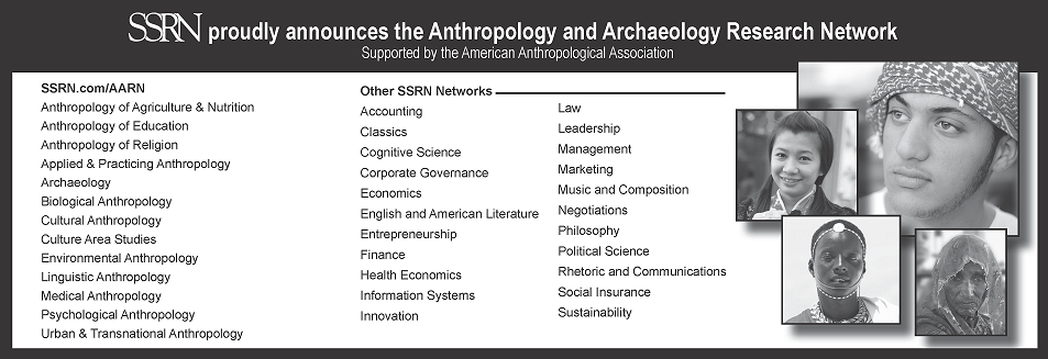 Anthropology and Archaeology Research Network (AARN)
