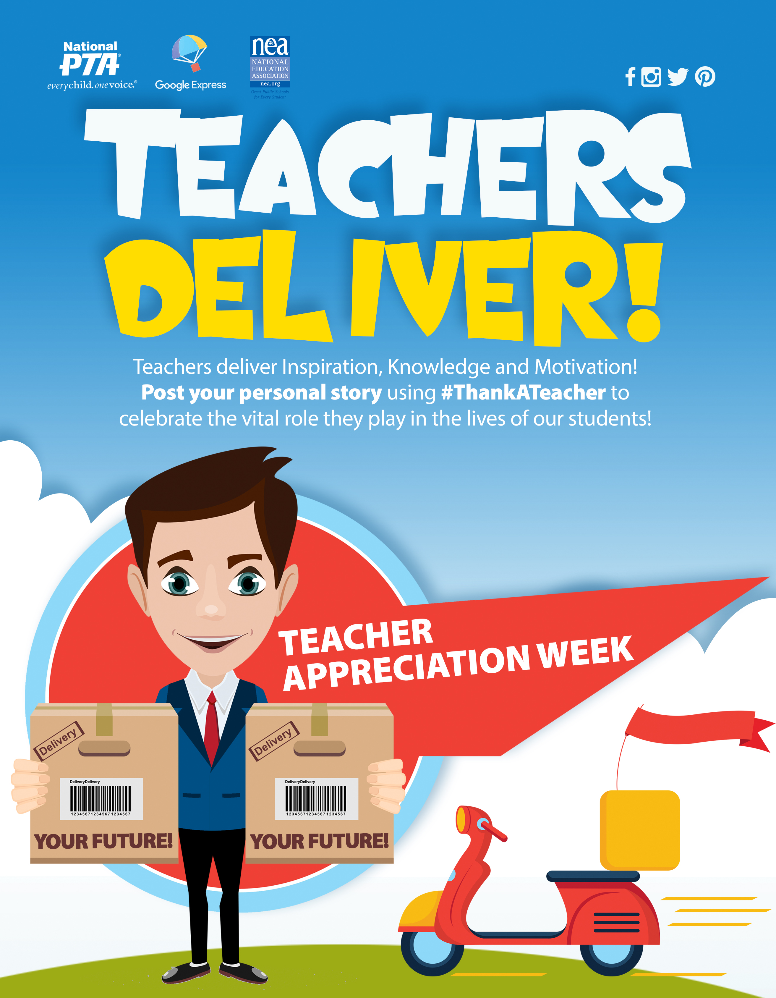 Teacher Appreciation Week 2017 Flyer: Event Toolkit—Teacher Appreciation Week   Programs   National PTA,