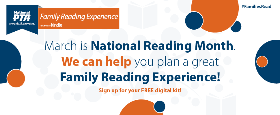 Celebrate National Reading Month with Family Readi