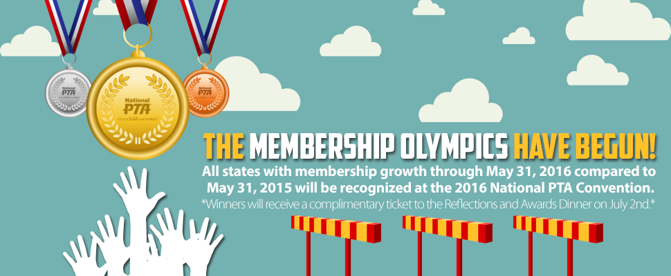 2016 National PTA Membership Olympics
