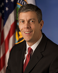United States Secretary of Education Arne Duncan.